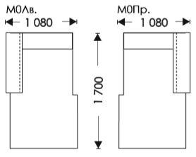 Схеми розкладання Мартін Модуль